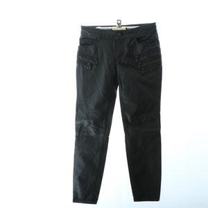 Free People Womens Pants 0 Biker Leather